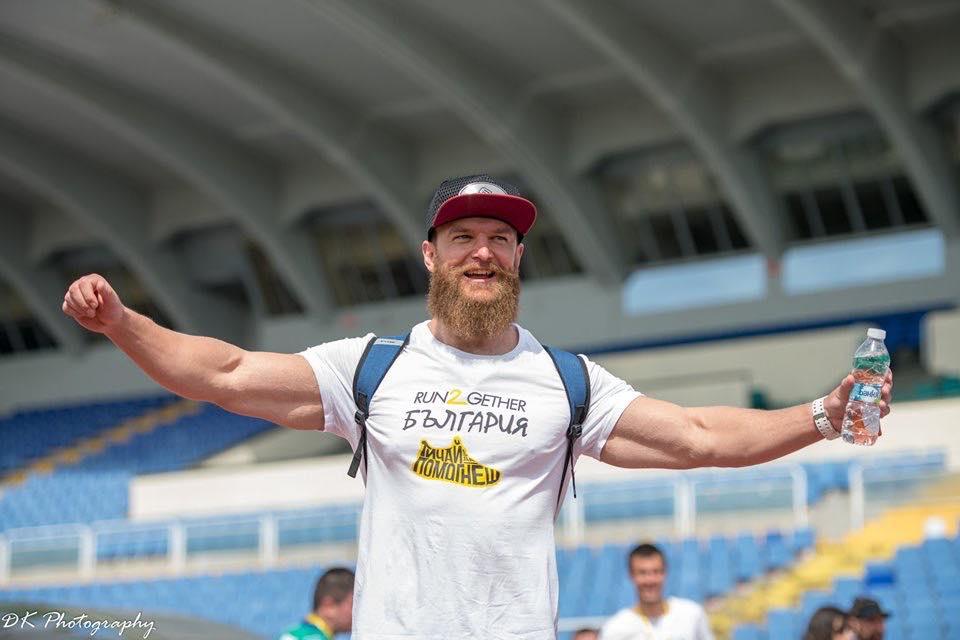 Иван Неделчев на run2gether 2019