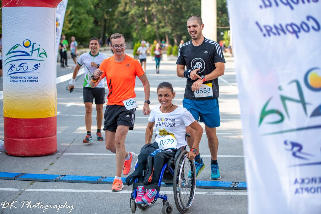 Зоя Чавдарова на Run2Gether България 2020