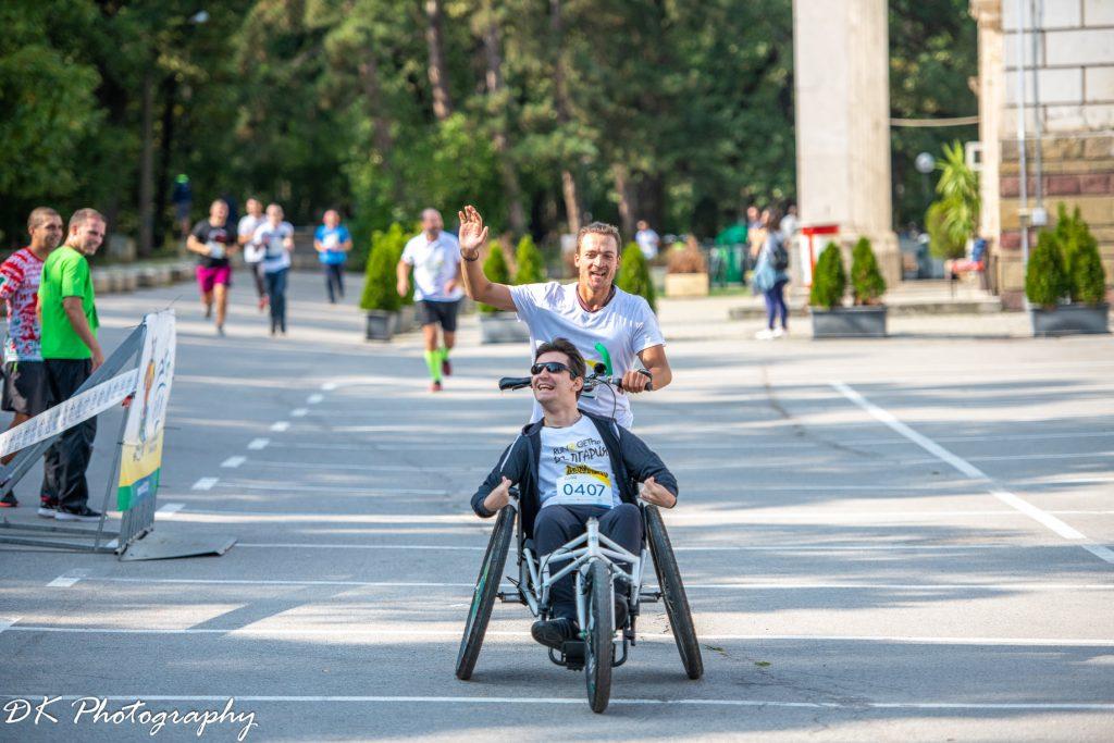 Петър Нефтелимов на Run2Gether България 2020