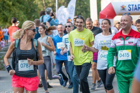 Иван Карастоянов и Мира Котева на Run2gether България